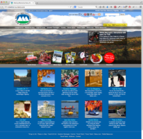 Custom Drupal Build for White Mountains Tourism