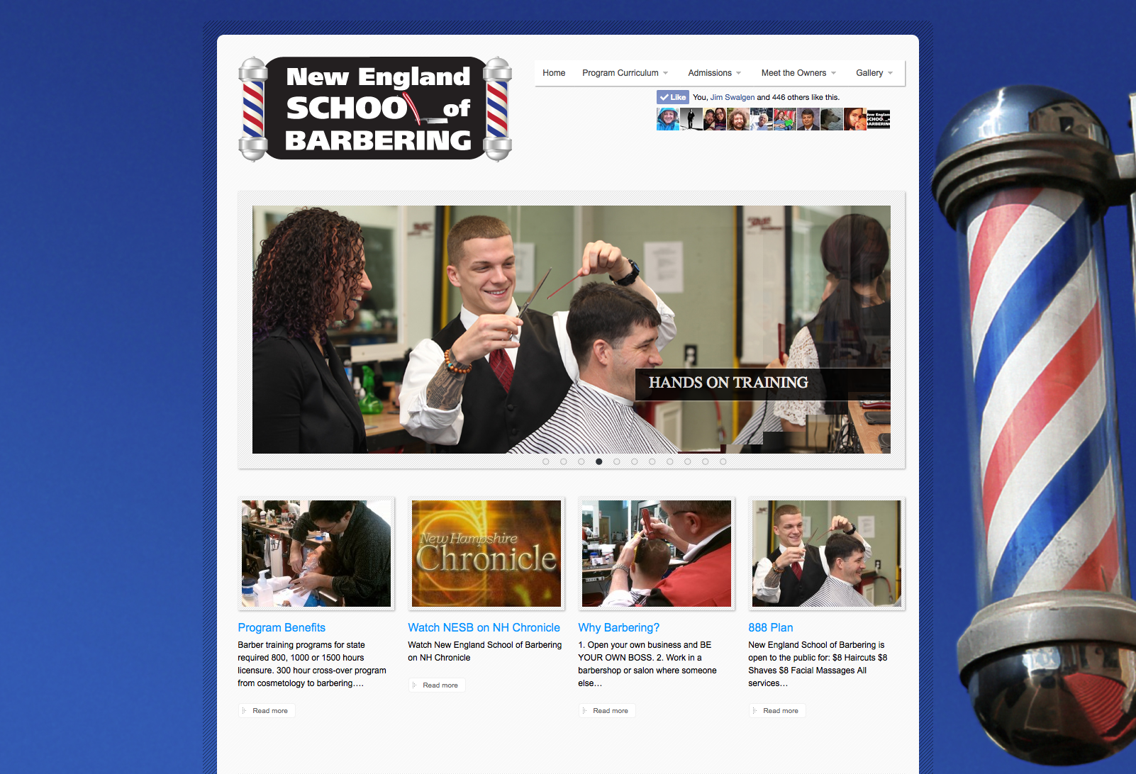 New England School of Barbering