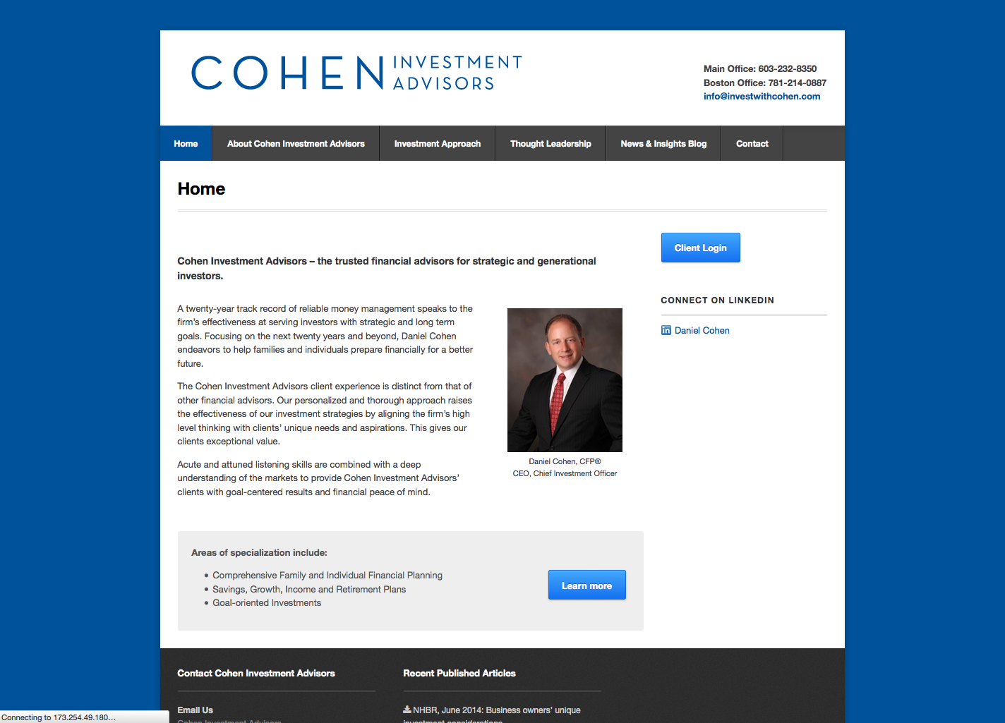 Cohen Investment Advisors