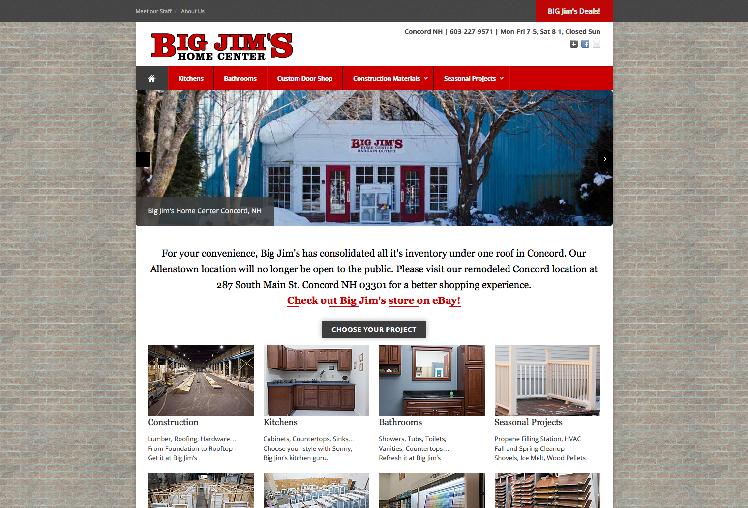 Big Jim's Home Center