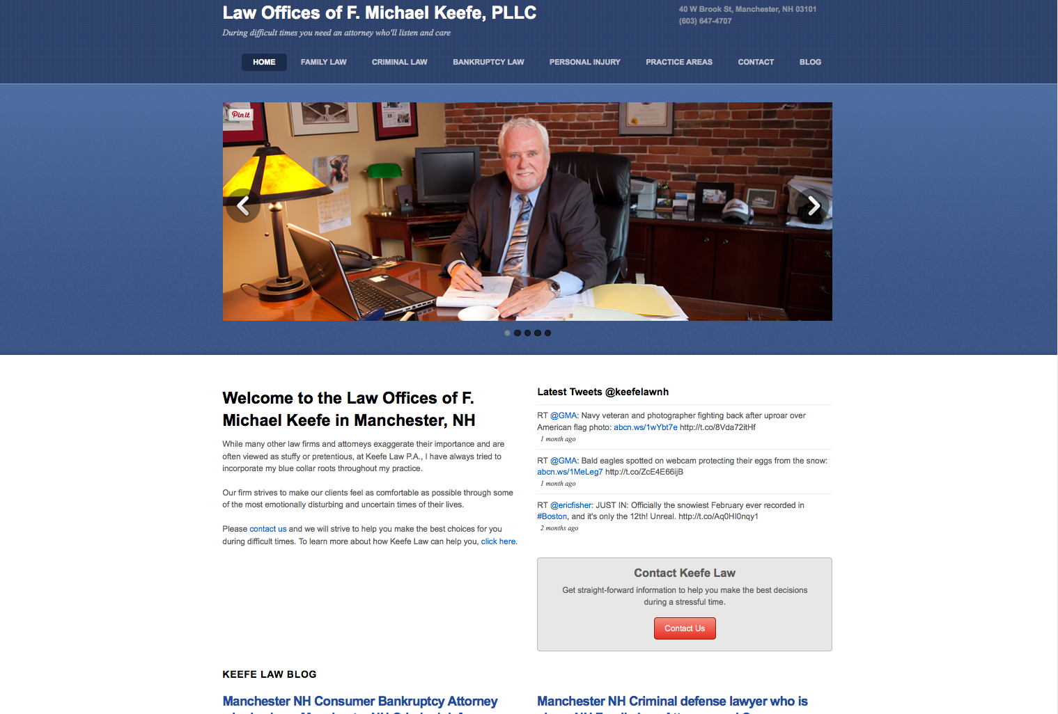Law Offices of F. Michael Keefe, PLLC