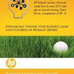 Hewlett-Packard 3D Golf Mailer