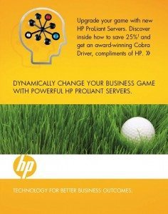 Hewlett-Packard 3D Golf Mailer