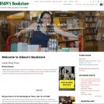 Gibsons Bookstore Website
