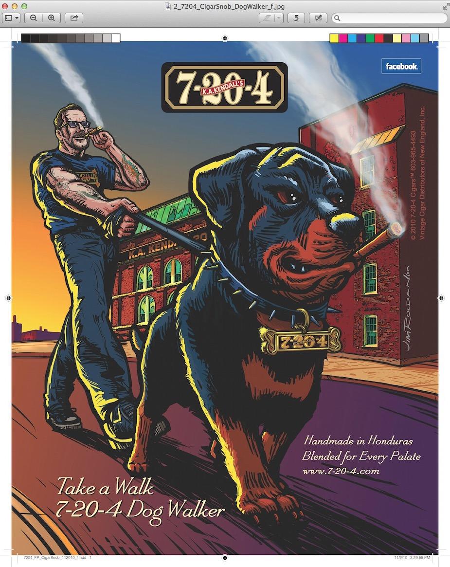 Dog Walker Cigar