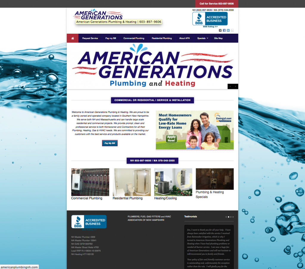 american plumbing and heating