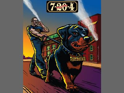 Dog Walker 7-20-4 Cigars