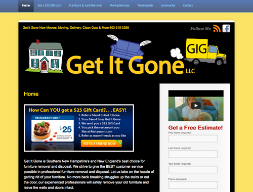 Get It Gone Now Video Testimonials are Hot!