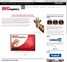 BIGraphics Inc. gets a big makeover