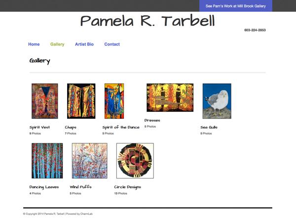 Responsive Design for Artist Portfolio